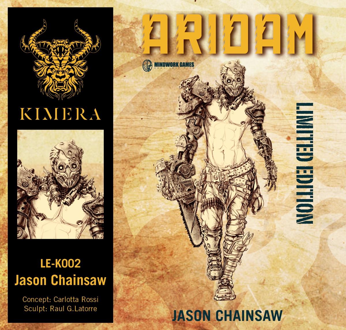 Jason Chainsaw (Limited Edition N.299)