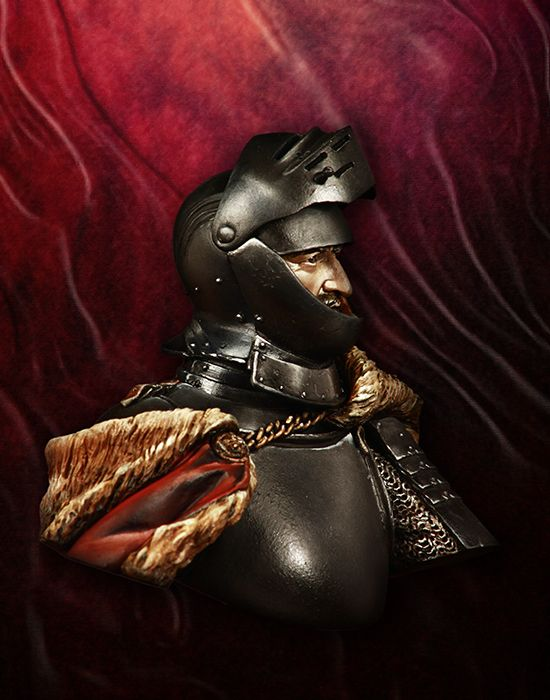 █ Resin 1//10 Figure Bust Giovanni dalle Bande Nere Unpainted Unassembled 3290